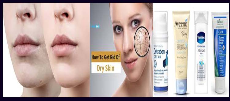 How to cure dry skin?