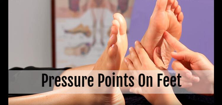 pressure points on feet
