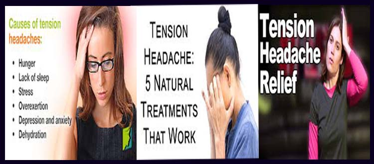 what causes tension headaches